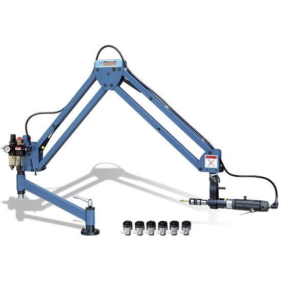 Paineilmakäyttöinen kierteityskone Wellcam GT-10HL.