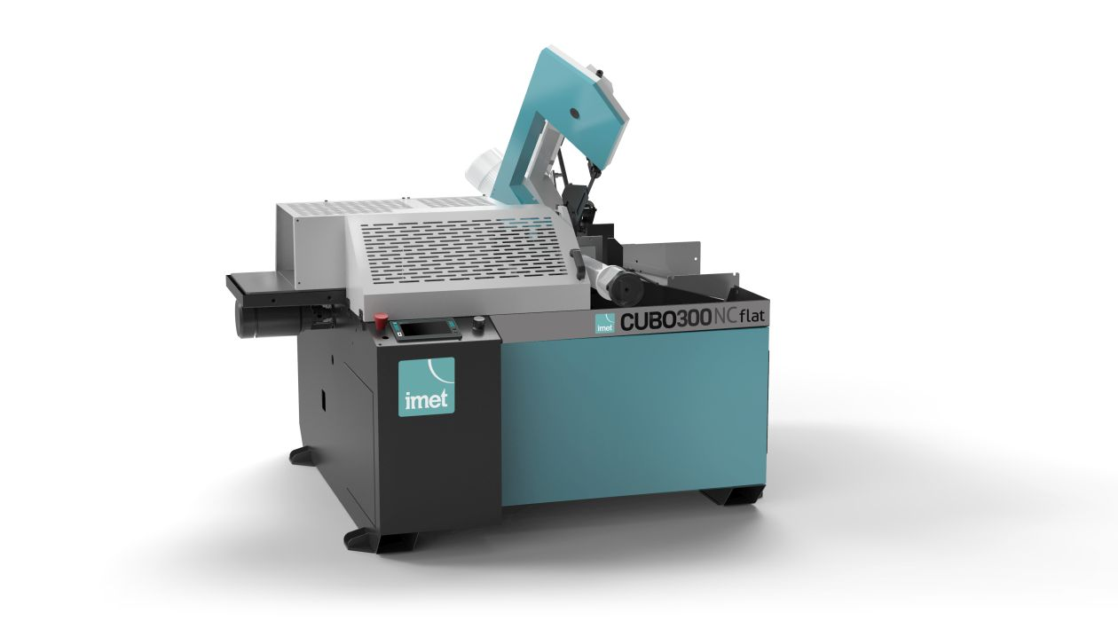 Automaattivannesaha Imet CUBO300FLAT NC metallille.