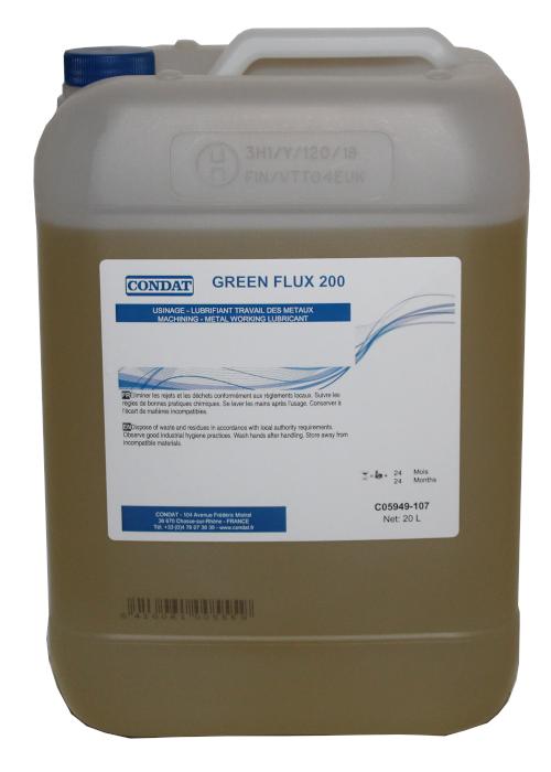 GREEN FLUX 200 sumuvoiteluaine käytettäväksi vannesahan sumuvoitelulaitteissa.