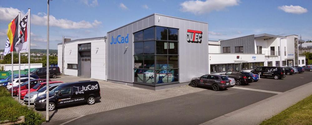 Jutec tehdas Saksan Limburgissa.