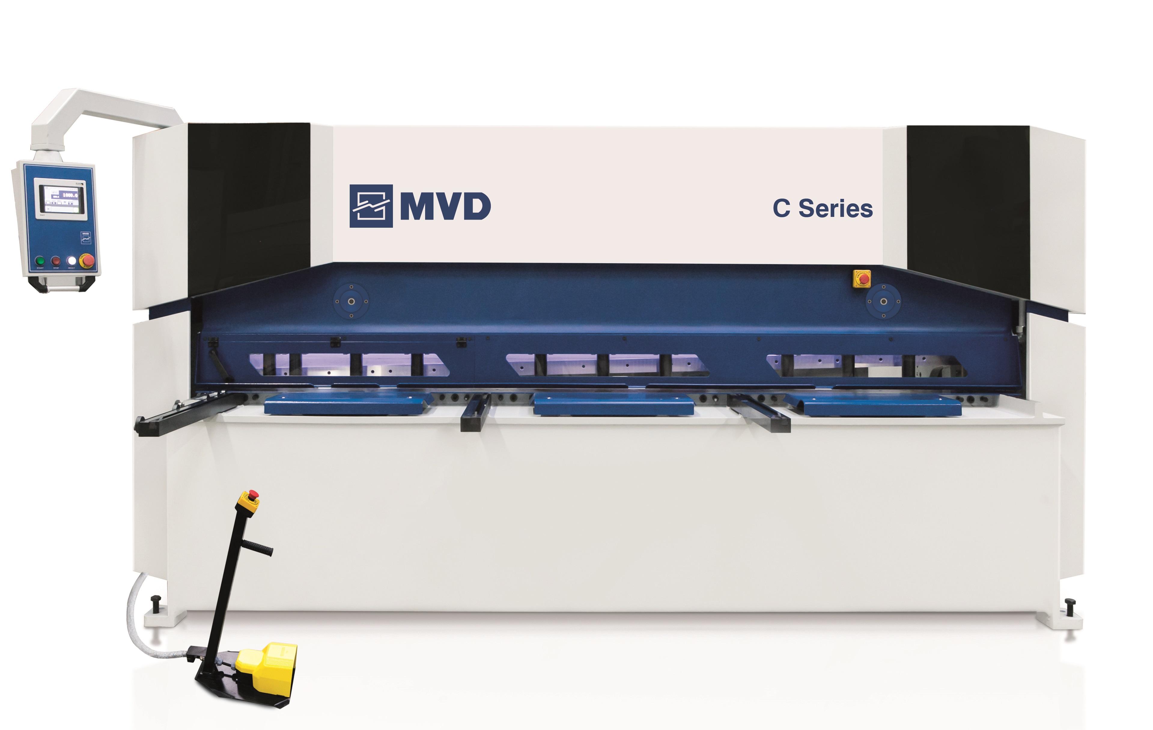 MVD cnc-ohjattu levyleikkuri.