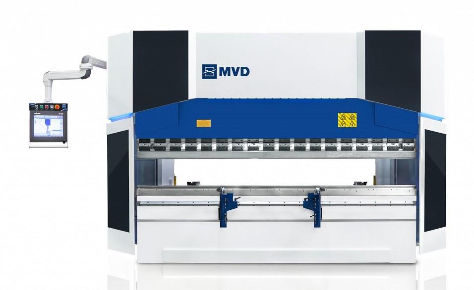 Särmäyskone MVD iBend hydraulisena ja servotoimisena.
