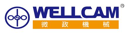 Kierteityskone Wellcam valmistajan logo.