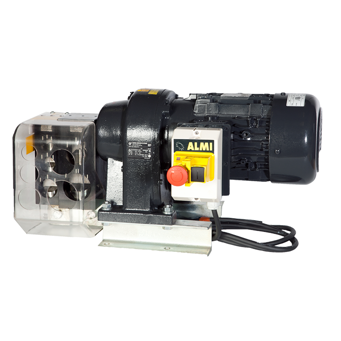 Moottorikäyttöinen loveamiskone putkille 26.9mm , 33,7mm , 42.4mm ja 48.3mm.