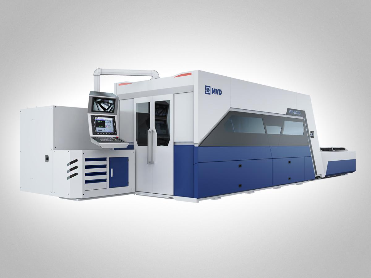 Laserleikkauskone MVD iLaser.