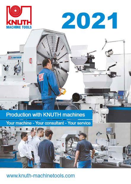 Knuth metallintyöstökoneiden koko luettelo 2021.